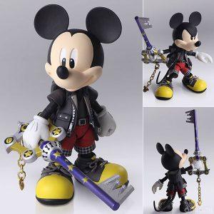 【キングダムハーツ】ブリングアーツ『王様/ミッキーマウス』可動フィギュア【スクウェア・エニックス】より2019年9月発売予定♪