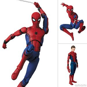 【スパイダーマン】マフェックス『SPIDER-MAN Ver.1.5(ホームカミング版)』可動フィギュア【メディコム・トイ】より2020年1月発売予定♪