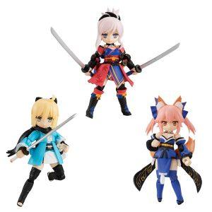 【デスクトップアーミー】『Fate/Grand Order』第3弾 可動フィギュア 3個入りBOX【メガハウス】より2019年9月発売予定☆