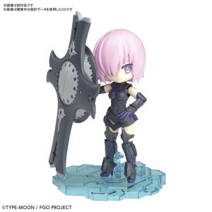 【Fate/Grand Order】ぷちりっつ『シールダー/マシュ・キリエライト』プラモデル【BANDAI SPIRITS】より2019年9月発売予定♪