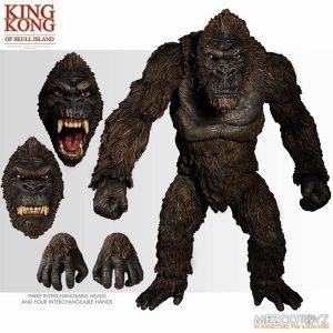 【キングコング】アルティメット 18インチ『キング・コング スカル・アイランド』可動フィギュア【メズコ】より2019年11月発売予定♪