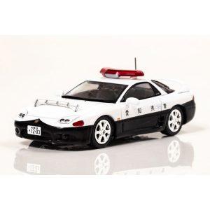 RAI'S 1/43『三菱 GTO Twin Turbo MR(Z15A)1997 愛知県警察高速道路交通警察隊車両』ミニカー【ヒコセブン】より2019年6月発売予定☆