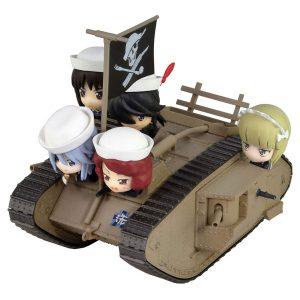 【ガルパン】『Mk.IV戦車 エンディングVer.』ガールズ&パンツァー 完成品フィギュア【ぺあどっと】より2019年7月発売予定♪
