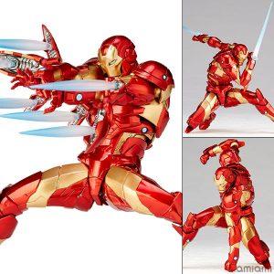 【アイアンマン】リボルテック『アイアンマン ブリーディングエッジアーマー』アメイジング・ヤマグチ 可動フィギュア【海洋堂】より2019年9月再販予定♪