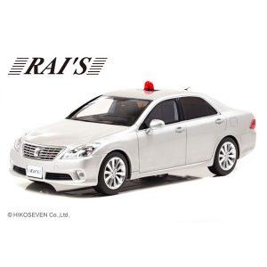 【RAI'S】1/18『トヨタ クラウン(GRS202)2011 警察本部交通部交通覆面車両(銀)』ミニカー【ヒコセブン】より2019年7月発売予定♪