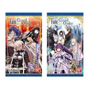 【Fate/Grand Order】食玩『Fate/Grand Order ウエハース7』20個入りBOX【バンダイ】より2019年7月発売予定♪