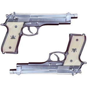 """【ブラック・ラグーン】1/1 『SWORD CUTLASS the Water Gun """"Two Hand set""""(ソード・カトラス 2丁セット)』ウォーターガン【フルコック】より2019年8月発売予定♪"""