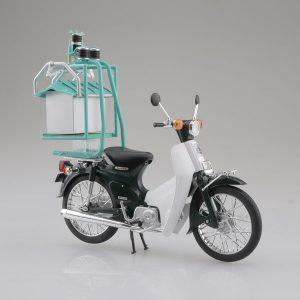 【ホンダ】1/12『Honda スーパーカブ50 出前機付』ミニカー【アオシマ】より2019年8月発売予定♪