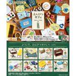 ぷちサンプル『えんぴつカフェ』8個入りBOX【リーメント】より2019年9月発売予定♪