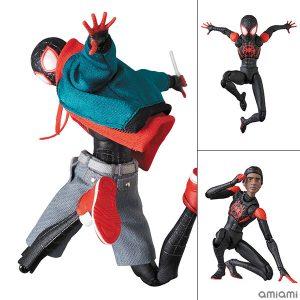 【スパイダーバース】マフェックス『スパイダーマン(マイルス・モラレス/Miles Morales)』Spider-Man: Into the Spider-Verse 可動フィギュア【メディコム・トイ】より2020年6月発売予定♪
