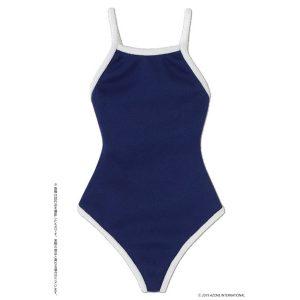 【アゾンオリジナルドール】1/3 AZO2『競泳用水着 ネイビー×ホワイト』ドール服【アゾン】より2019年7月発売予定♪