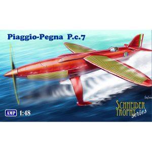 1/48『ピアッジョ・ペグナ P.c.7』プラモデル【ミクロミル】より2019年8月発売予定♪