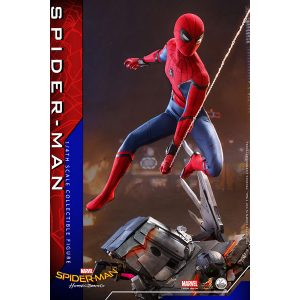 【スパイダーマン】クオーター・スケール『スパイダーマン:ホームカミング』1/4 可動フィギュア【ホットトイズ】より2021年1月発売予定♪