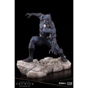 【マーベルコミック】ARTFXプレミア『ブラックパンサー』MARVEL UNIVERSE 1/10 簡易組立キット【コトブキヤ】より2020年1月発売予定♪