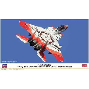 "1/72『F-15J イーグル ""305SQ 40周年記念"" w/ハイディテール ノズルパーツ』プラモデル【ハセガワ】より2019年9月発売♪"