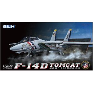 1/72『アメリカ海軍 F-14D VF-2 バウンティハンターズ』プラモデル【グレートウォールホビー】より2019年9月発売予定♪