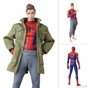 【スパイダーバース】マフェックス『スパイダーマン(ピーター・B・パーカー)』Spider-Man: Into the Spider-Verse 可動フィギュア【メディコム・トイ】より2020年6月発売予定☆
