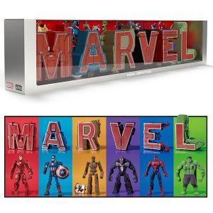 【マーベル・コミック】超変換!!もじバケる『 MARVEL Complete Box』食玩フィギュア【バンダイ】より2019年11月発売予定♪