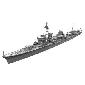 1/700 艦艇模型シリーズ『特型駆逐艦I型改 浦波』プラモデル【ヤマシタホビー】より2019年11月発売予定♪