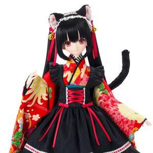 【ブラックレイヴン】Black Raven『Lilia(リリア)~大正浪漫~ 黒猫』完成品ドール【アゾン】より2019年8月発売予定☆