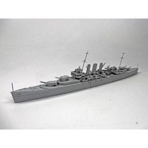 1/700 ウォーターライン『英国重巡洋艦ドーセットシャー』プラモデル【アオシマ】より2019年11月発売予定♪