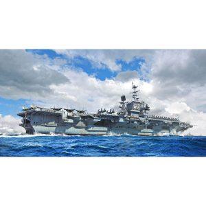 1/700『アメリカ海軍 空母 CV-67 ジョン・F・ケネディ』プラモデル【トランペッター】より2019年11月発売予定☆