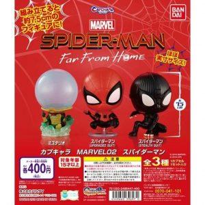 【スパイダーマン】ガシャポン『カプキャラMARVEL02』組み立てフィギュア【バンダイ】より2019年9月発売♪