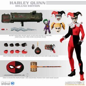 【DCコミックス】ワン12コレクティブ『ハーレイ・クイン』1/12 可動フィギュア【メズコ】より2020年2月発売予定♪