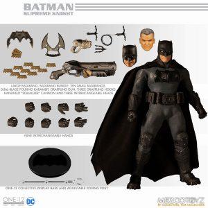 【DCコミックス】ワン12コレクティブ『シュプリーム・ナイト バットマン』 1/12 可動フィギュア【メズコ】より2020年2月発売予定♪