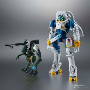 【キングゲイナー】ROBOT魂〈SIDE OM〉『キングゲイナー&ガチコ』可動フィギュア【BANDAI SPIRITS】より2020年3月発売予定♪