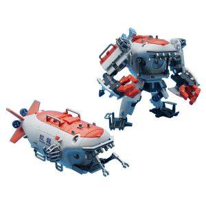 『蛟竜 深海有人潜水艇』可変可動フィギュア【MECHANIC TOYS】より2020年1月発売予定♪