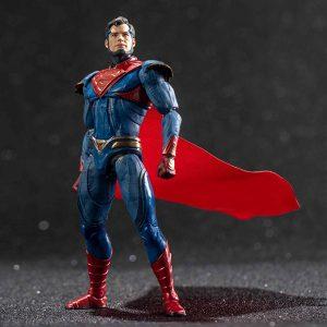 【インジャスティス2】1/18『スーパーマン 強化版』可動フィギュア【ハイヤトイズ】より2020年2月発売予定♪