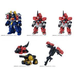 ガシャポン『ROBOT CONCERTO(ロボット・コンチェルト)02』ブロックトイ【バンダイ】より2020年3月発売予定♪