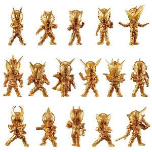 【仮面ライダー】『仮面ライダーゴールドフィギュア01』食玩 16個入りBOX【バンダイ】より2020年2月発売予定♪