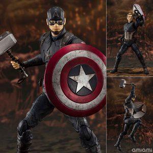 【アベンジャーズ】S.H.フィギュアーツ『キャプテン・アメリカ《FINAL BATTLE》EDITION』可動フィギュア【BANDAI SPIRITS】より2020年4月発売予定♪