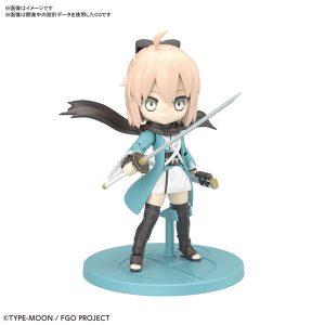 【Fate/Grand Order】ぷちりっつ『セイバー/沖田総司』プラモデル【BANDAI SPIRITS】より2020年3月発売予定♪