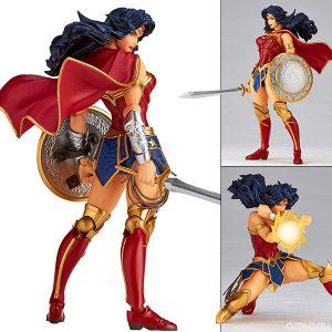 【ワンダーウーマン】リボルテック『No.017 Wonder Woman(ワンダーウーマン)』アメイジング・ヤマグチ 可動フィギュア【海洋堂】より2020年5月発売予定☆