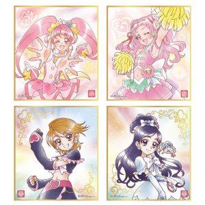 【プリキュア】食玩『プリキュア 色紙ART』10個入りBOX【バンダイ】より2020年2月発売予定♪