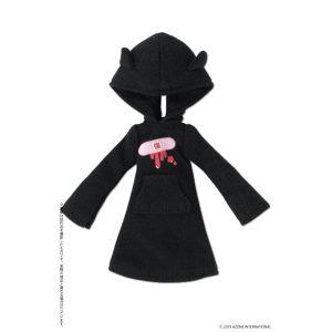 【ピコニーモ】1/12コスチューム『病みかわ*ねこみみフードワンピース』ドール服【アゾン】より2019年12月発売予定♪