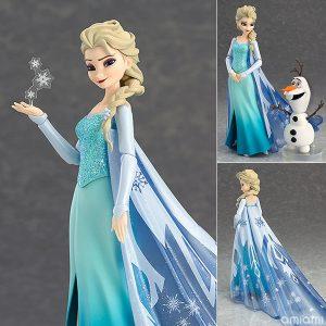 【アナ雪】figma『エルサ』アナと雪の女王 可動フィギュア【グッドスマイルカンパニー】より2020年7月再販予定♪