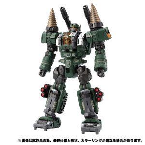 【ダイアクロン】DA-51 トライヴァース『トライディガー〈宇宙海兵隊Ver〉』可動フィギュア【タカラトミー】より2020年4月発売予定♪