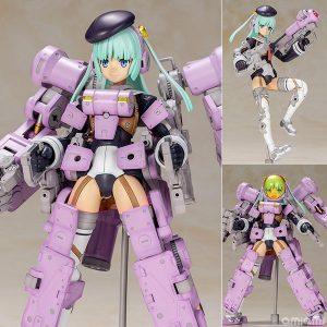 【FAガール】『グライフェン Ultramarine Violet Ver.』フレームアームズ・ガール プラモデル【コトブキヤ】より2020年5月発売予定♪
