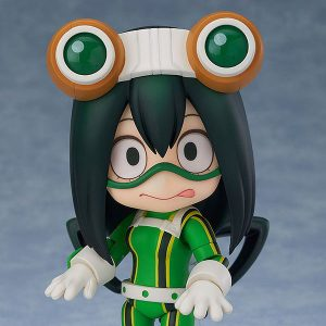 【ヒロアカ】ねんどろいど『蛙吹梅雨』僕のヒーローアカデミア 可動フィギュア【グッドスマイルカンパニー】より2020年7月発売予定♪