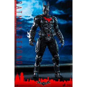 【バットマン】ビデオゲーム・マスターピース『アーカムナイト バットマン ザ フューチャー版』1/6 可動フィギュア【ホットトイズ】より2021年3月発売予定♪