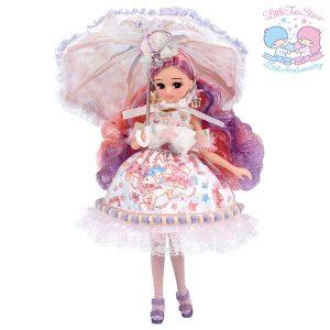 【リカちゃん】リカ スタイリッシュドールコレクション『Little Twin Stars Anniversary Style(キキララ45周年 アニバーサリー スタイル)』完成品ドール【タカラトミー】より2020年6月発売予定☆