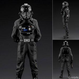 【スター・ウォーズ】ARTFX+『タイ・ファイター・パイロット』1/10 簡易組立キット【コトブキヤ】より2020年6月発売予定♪