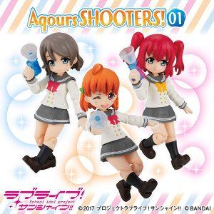 【アクアシューターズ!】ガシャポン『Aqours SHOOTERS!01』3個入りBOX【バンダイ】より2020年5月発売予定☆