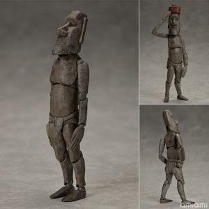【テーブル美術館】figma『モアイ像』可動フィギュア【フリーイング】より2020年12月発売予定♪