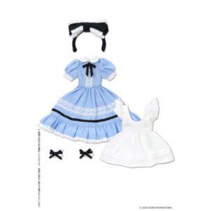 【ピコニーモ】1/12コスチューム『夢見る少女のアリスドレスセット アリスブルー』ドール服【アゾン】より2020年3月発売予定♪