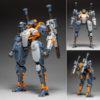 """【ROBOT BUILD】ロボットビルド『RB-09 RONIN """"浪人""""(ユニバーサルカラーVer)』可動フィギュア【核誠治造】より2020年5月発売予定♪"""